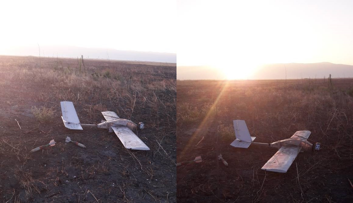 Syrian Army Shoots Down Another Armed Drone In Northwestern Hama (Photos)
