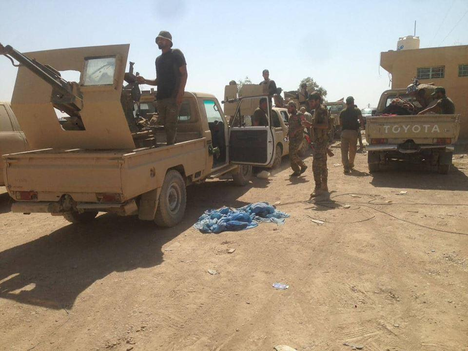 Popular Mobilization Units Conduct Security Operations In Northwestern Iraq (Photos)