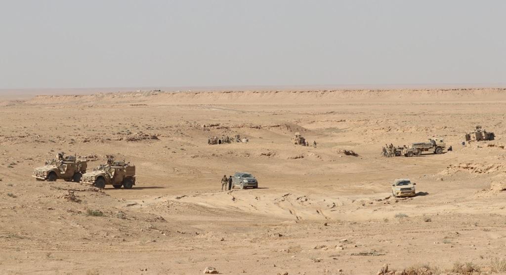 US-backed Forces Advance Inside Al-Baghuz Al-Fawqani In Euphrates Valley
