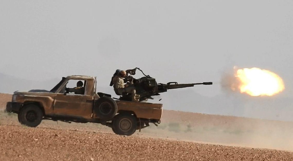 ISIS Launches Large Counter-Attack Against Syrian Army In Western Deir Ezzor