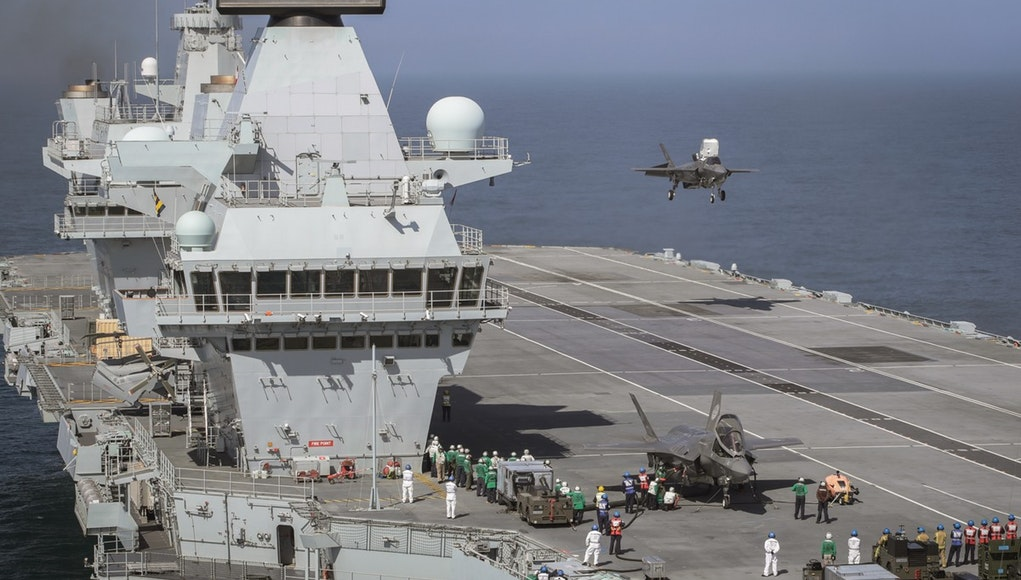 UK Prepares To Operate F-35B Jets From Its Sole Aircraft Carrier