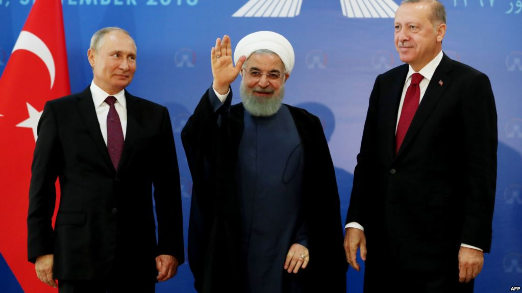 US Sanctions Threats 'Unexpectedly' Led To Deeper Economic Ties Between Iran And Russia