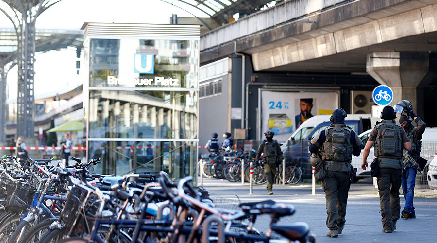 Hostage Situation In Germany: Security Forces Deployed Near Cologne Main Train Station