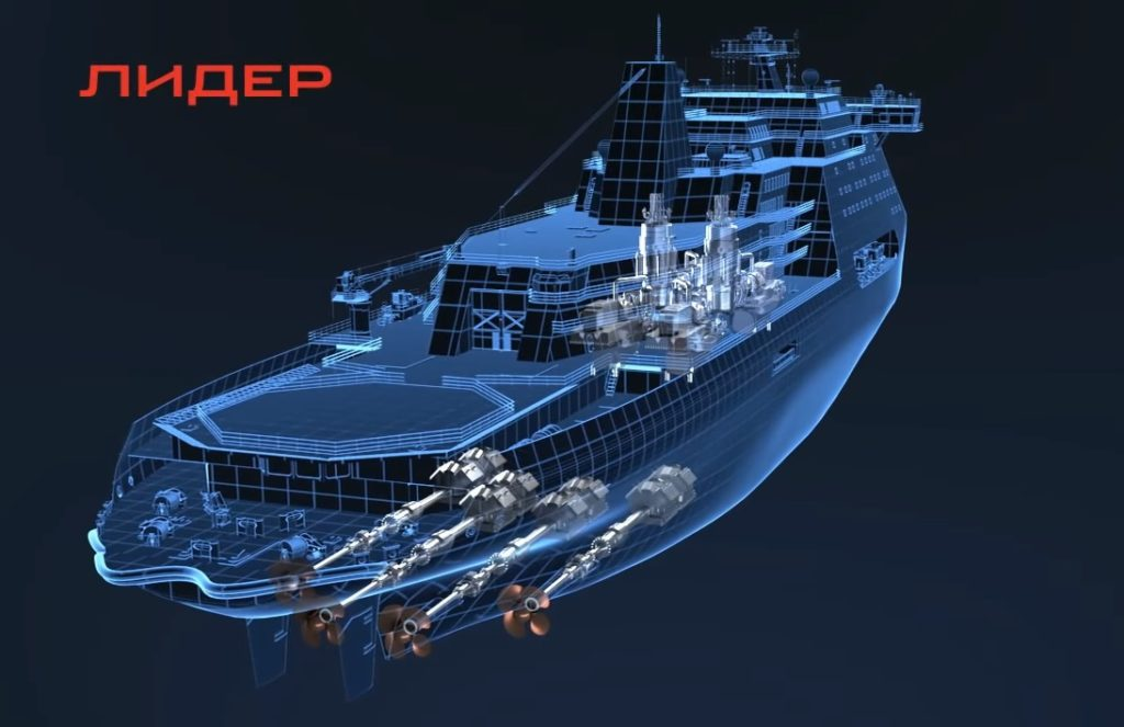 Russia Is Going To Spend About 99 Bln Rubles To Build First Lider-class Atomic Icebreaker: Media