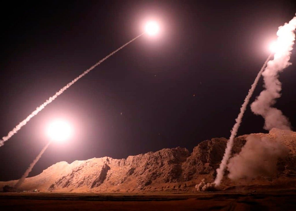 "US Calls Iranian Missile Strike On ISIS In Syria ""Reckless"""