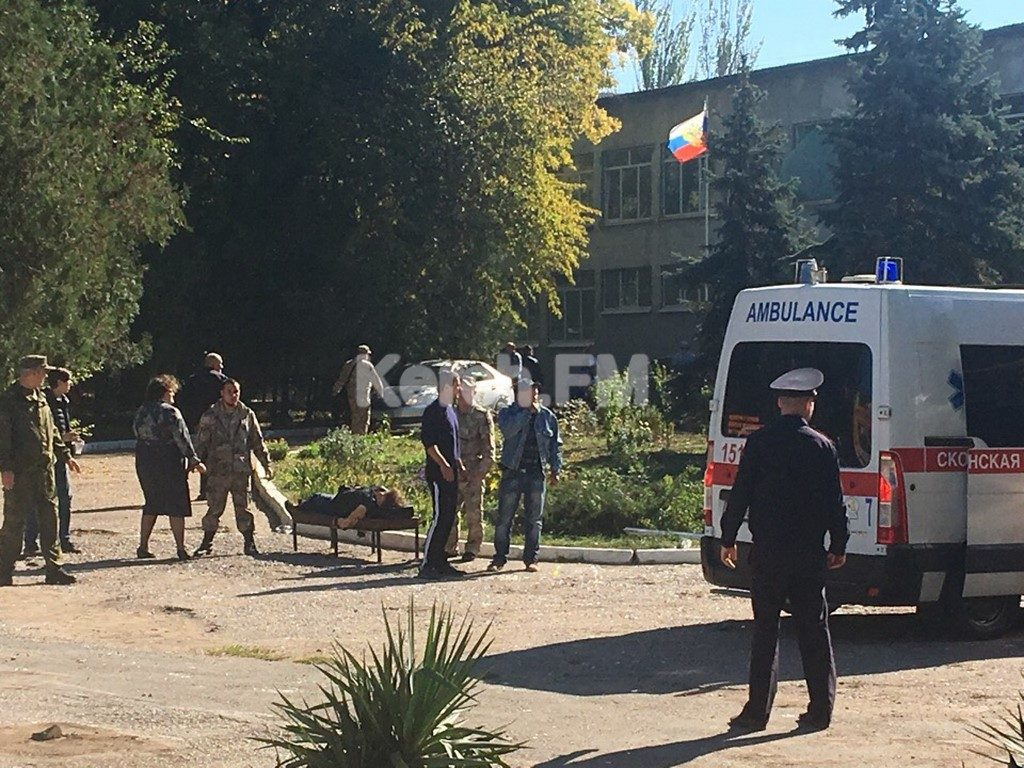 IED Explosion Kills Over Dozen Of People, Injures Up To 50 In Russia's Kerch (Photos)