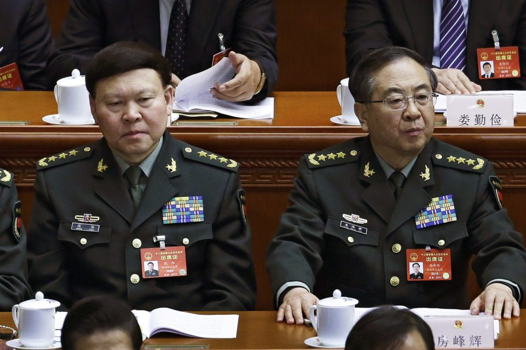 Anti-Corruption Campaign In China: Two Senior Generals Stripped Of Rank And Party Membership