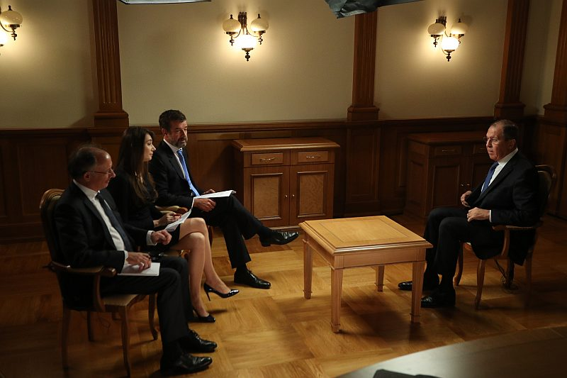 Foreign Minister Sergey Lavrov's Interview With RT France, Paris Match and Le Figaro
