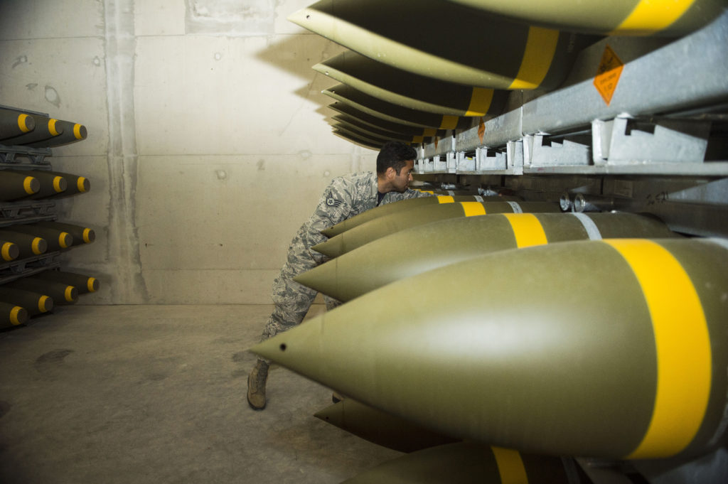 War Preparations: US Air Force In Europe Receives Largest Ammo Shipment Since Bombing Of Yugoslavia