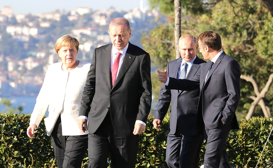 Russian, German, French, Turkish Leaders Meet In Istanbul To Discuss Syrian Conflict