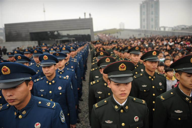 Xi Jinping Says China Has To Prepare For War