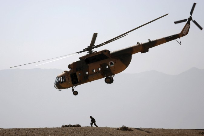 Afghan Military Helicopter Crashes Killing 25 People On Board