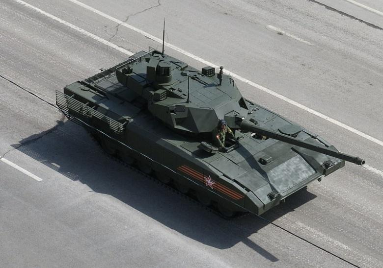 India Eyes T-14 Armata As Its Army Chief Visits Russia