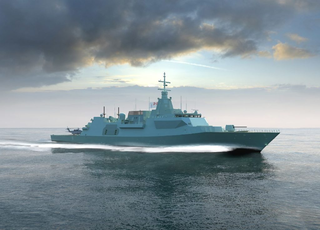 Royal Canadian Navy Is Going To Buy British Type-26 Frigates To Hunt Russian Subs In Arctic