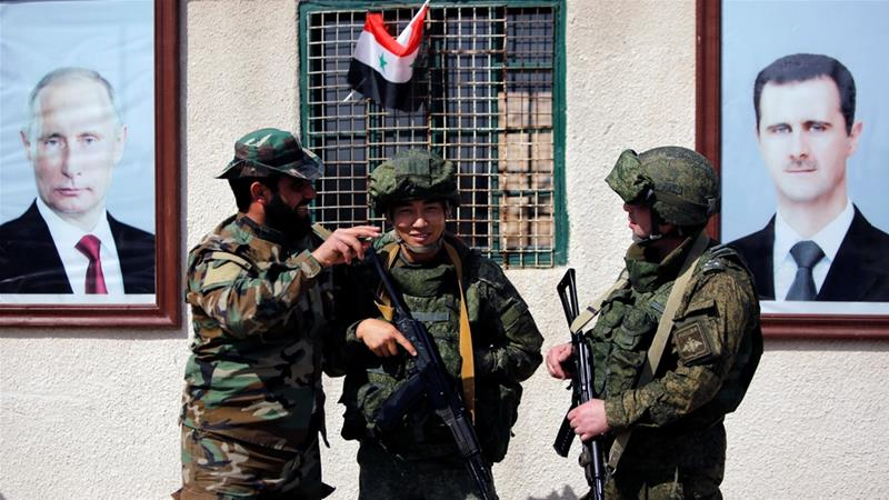 Russia Vows To Continue Fighting Terrorism In Syria