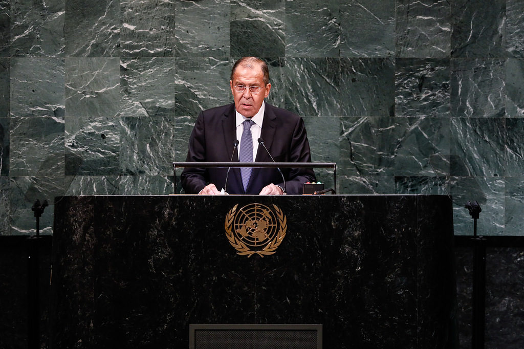 Foreign Minister Sergey Lavrov's remarks at the 73rd session of the UN General Assembly