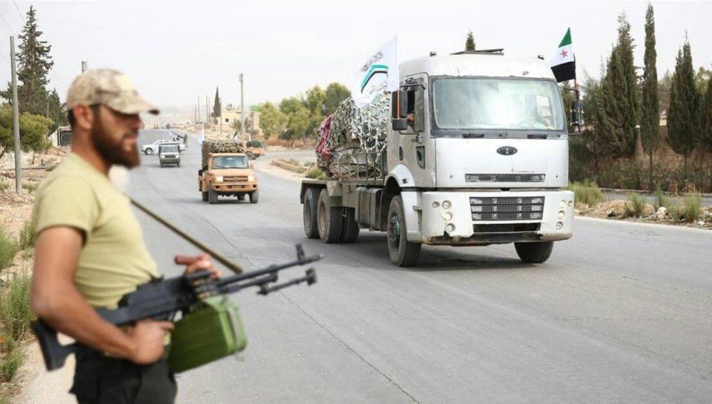 Turkish State Media Claims All Militant Groups Withdrew Their Heavy Weapons From Idlib Demilitarized Zone
