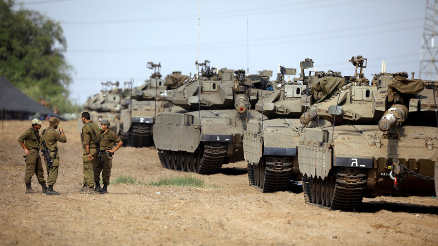 Israel Deploys Over 60 Battle Tanks, Armoured Vehicles Near Gaza. Military Action Is Expected Soon
