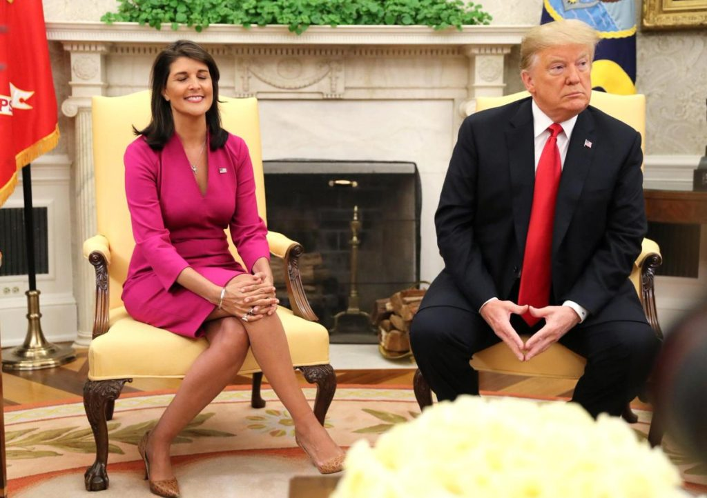 Nikki Haley Resigns As US Ambassador To United Nations