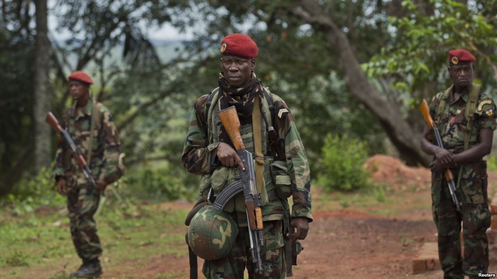 CAR Army Backed By Russian Forces Recaptures Another Town On Bangui-Beloko Highway (Photos)