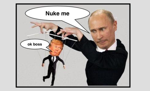 """Putin's Puppet"" Advances Nuclear Missile Escalations Against Putin"