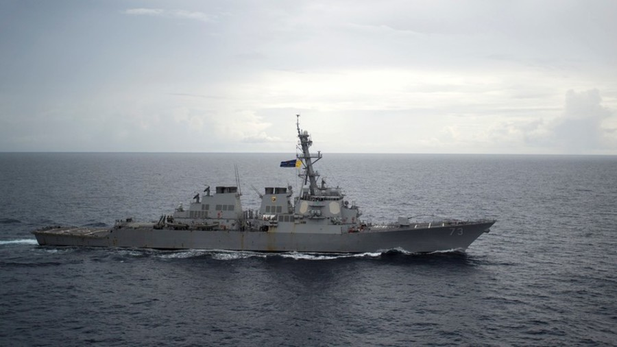 US-Chinese Tension: Enouncter Between Chinese And US Warships In South China Sea
