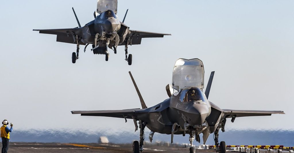 Entire F-35 Fleet Is Grounded Because Of Widespread Problem With Jet's Fuel Tubes