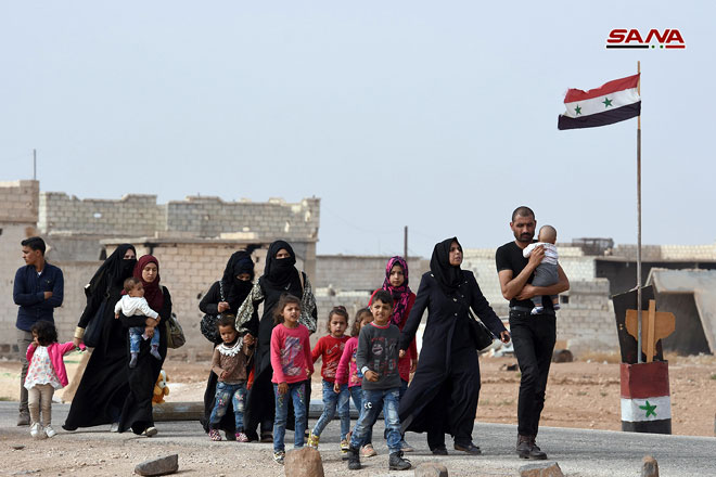 More Civilians Flee Militant-held Area In Idlib To Government-Controlled Territory (Photos)