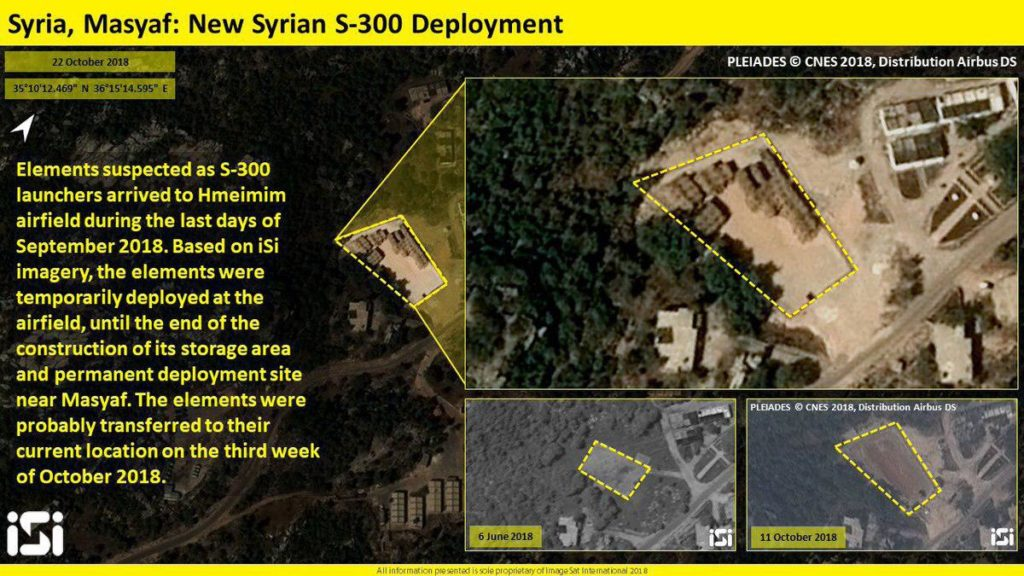 Sattelite Images Reportedly Reveal Location Of Syria's S-300 System