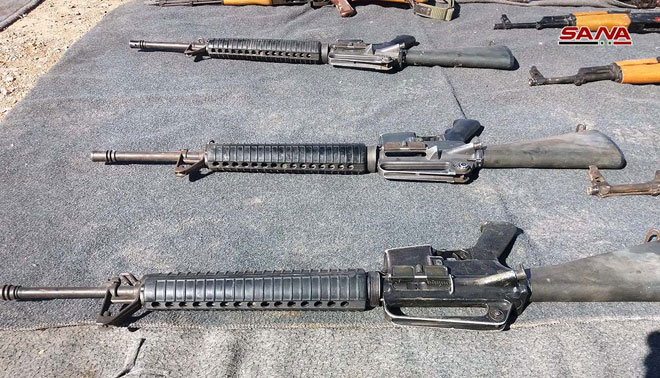 Syrian Security Forces Seize Weapons Caches Left Behind By Militants In Homs, Quneitra Provinces (Photos)