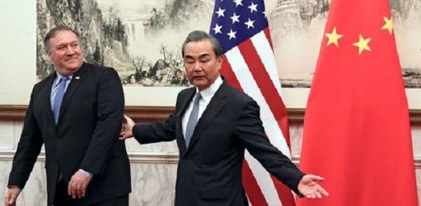 Unprecedented Public Confrontation On Display In Beijing Between Top US, China Diplomats