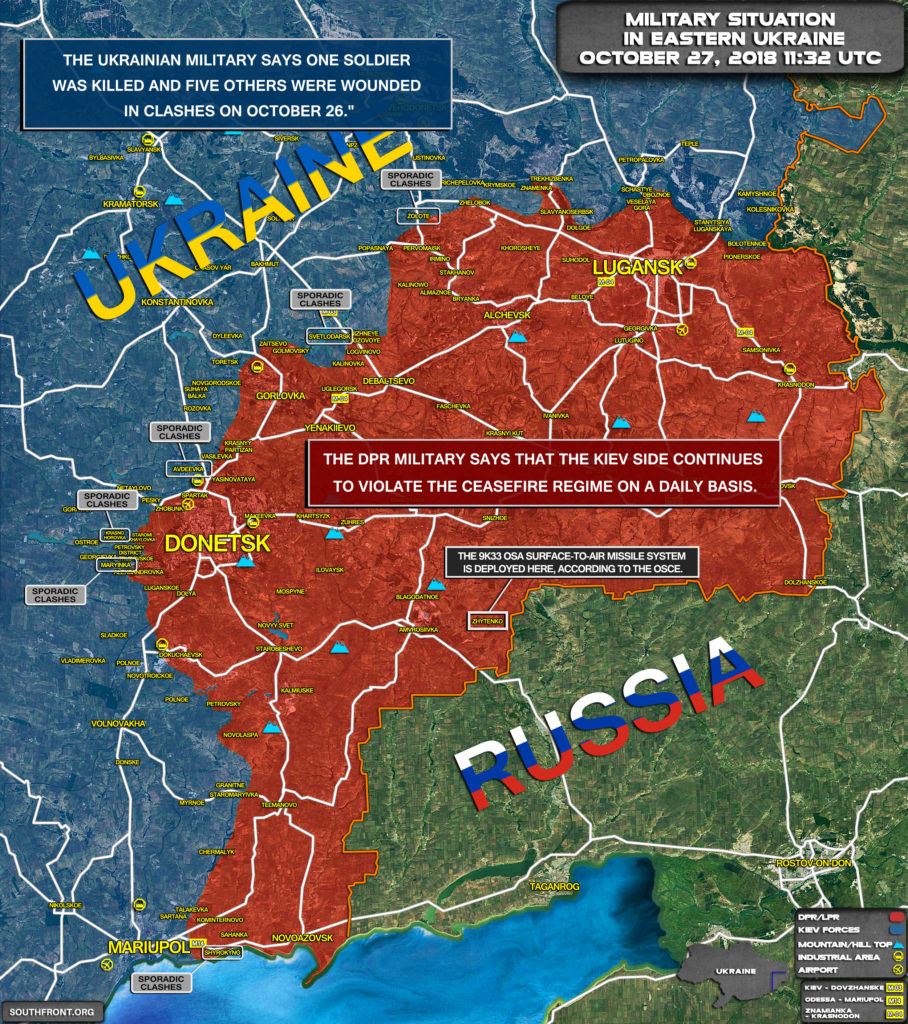 Pro-Kiev Forces Suffer More Casualties In Clashes With Local Militias In Eastern Ukraine (Map Update)