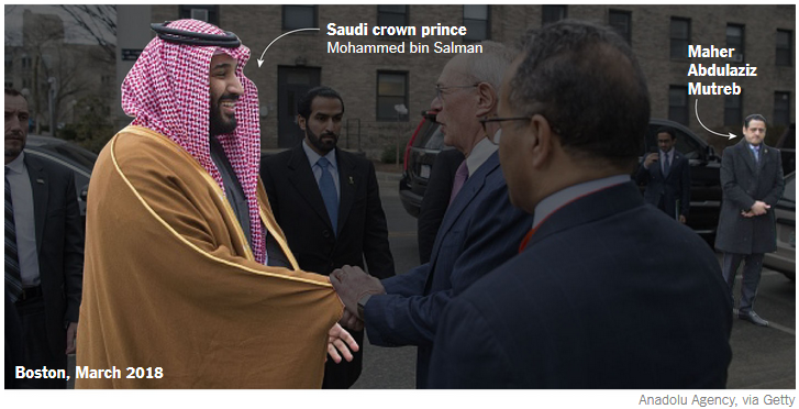 Suspected Assasinators Of Khashoggi Appears To Be From Close Circle Of Saudi Crown Prince