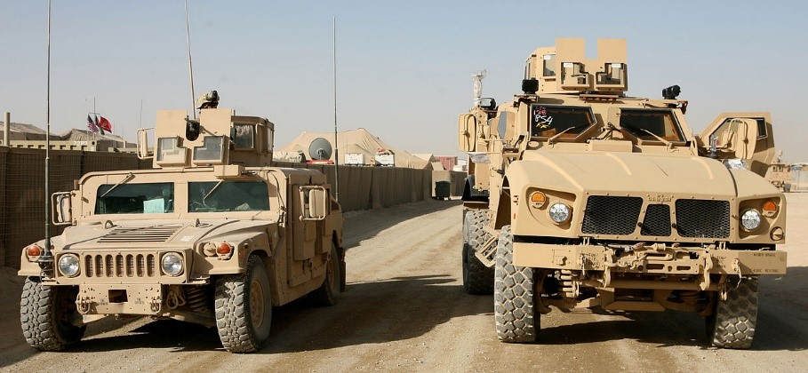 Guided Missile Hits US Forces Supply Convoy In Southern Iraq