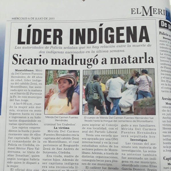 Colombia: Multinationals and Indigenous People Part II - The Zenú