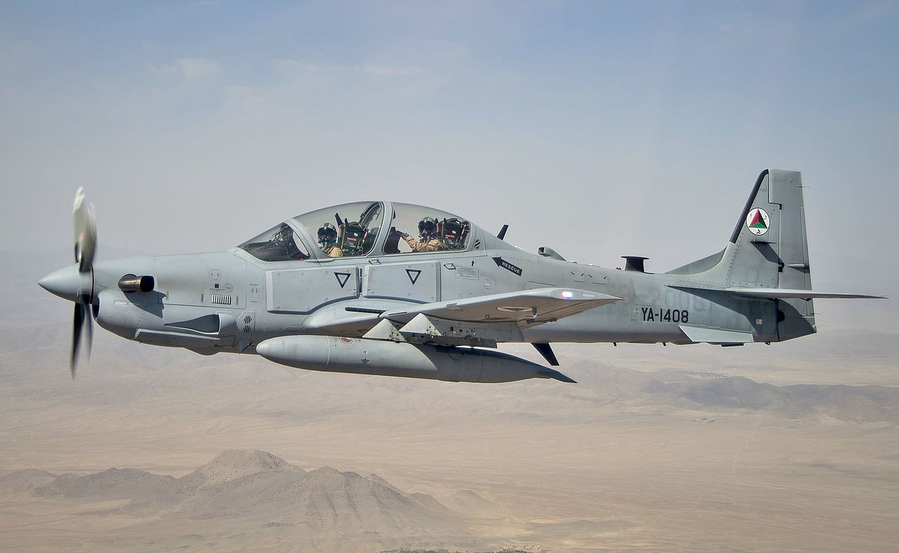 Afghan Air Force Kills Scores Of Taliban Fighters In Southern Afghanistan