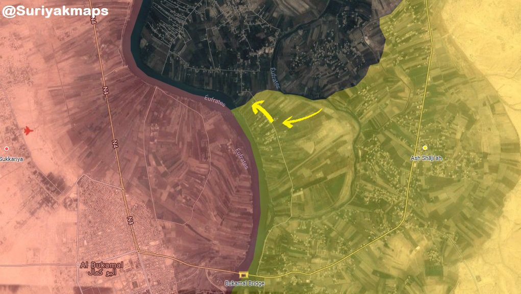 Syrian Democratic Forces Strom New Village In Euphrates Valley