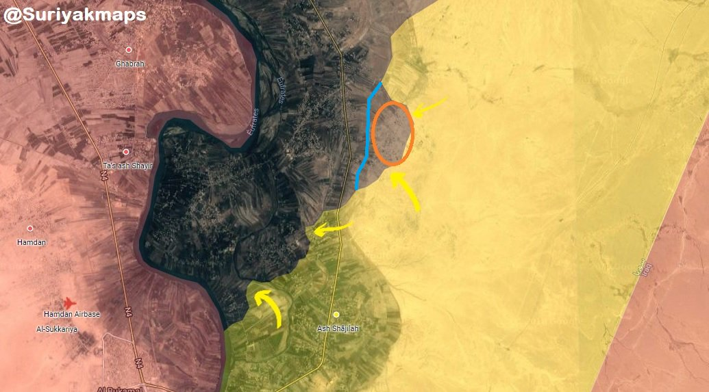 US-Backed Forces Continue Their Advance Around Hajin And North Of Al-Baghuz