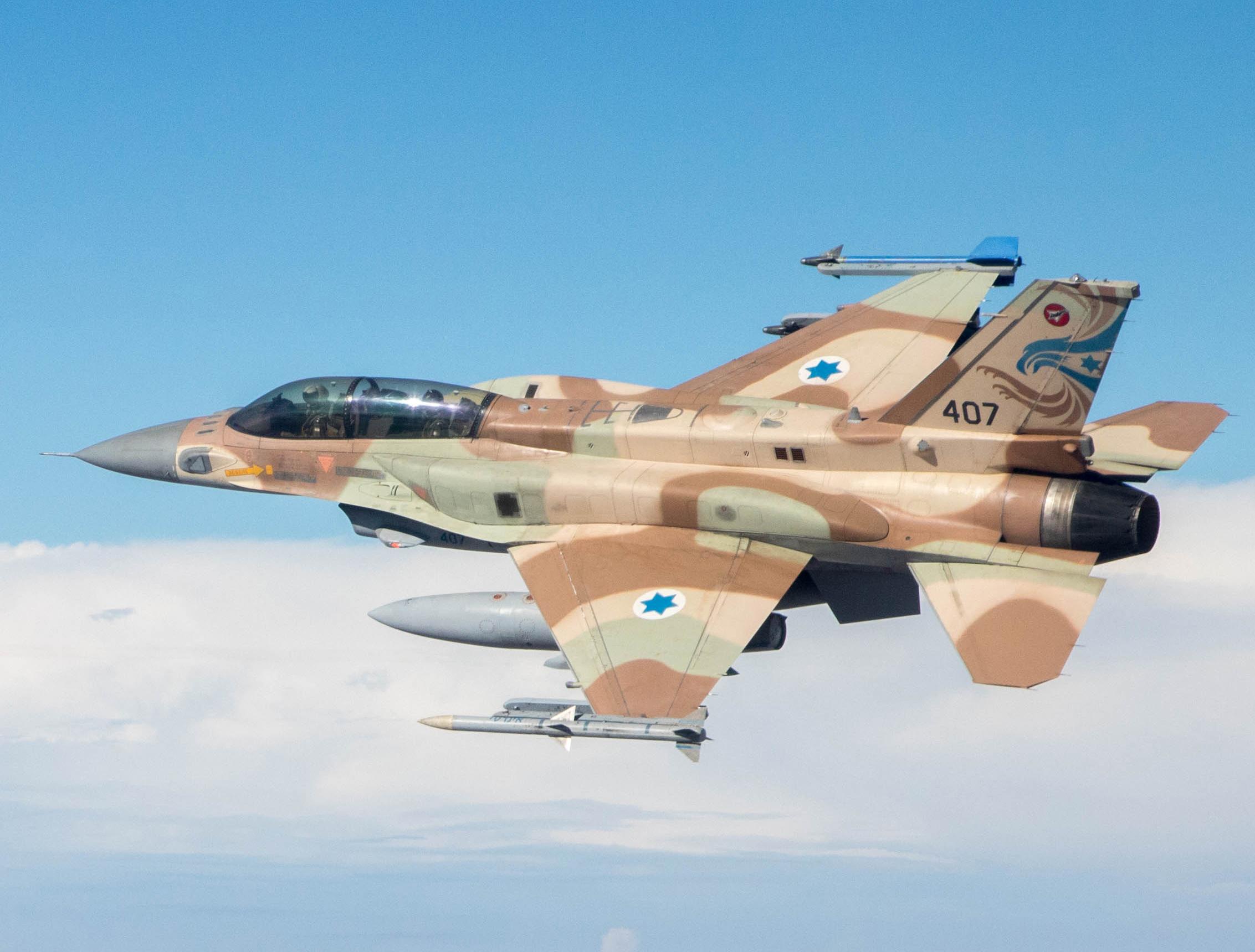 Israeli Warplanes Strikes Hamas' Naval Positions Following Rocket Launch From Gaza