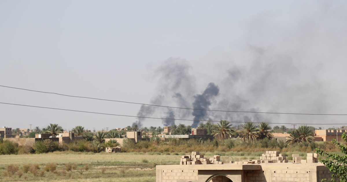ISIS Attacks Force SDF To Move From Offense To Defense In Euphrates Valley