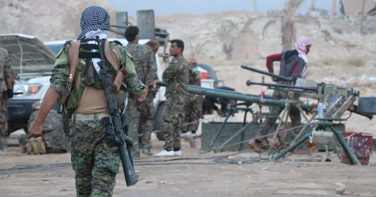 U.S.-led Coalition, SDF Launch Large Security Operation In Eastern Deir Ezzor