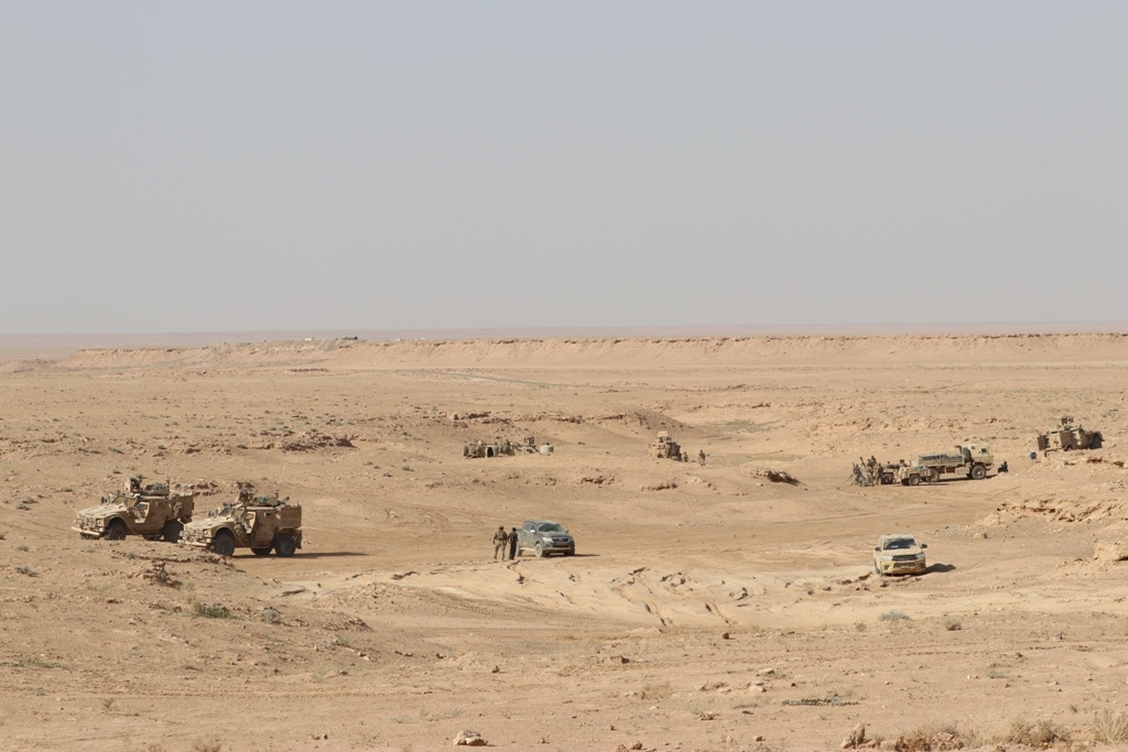 SDF Still Facing Problems With Hajin Advance Despite Support From US Marines