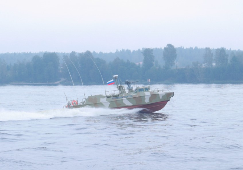 Russian Navy Gets Two Raptor-type Patrol Boats