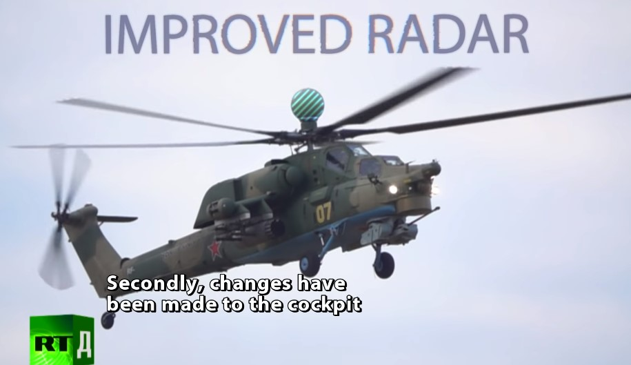 Video: Russia's Mi-28 UB Combat Training Helicopter