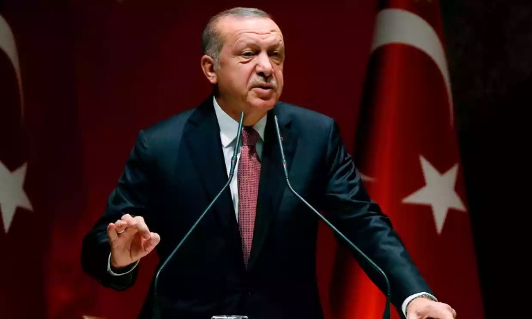Erdogan Says He Has No Objection To Damascus' Control Over Northeastern Syria