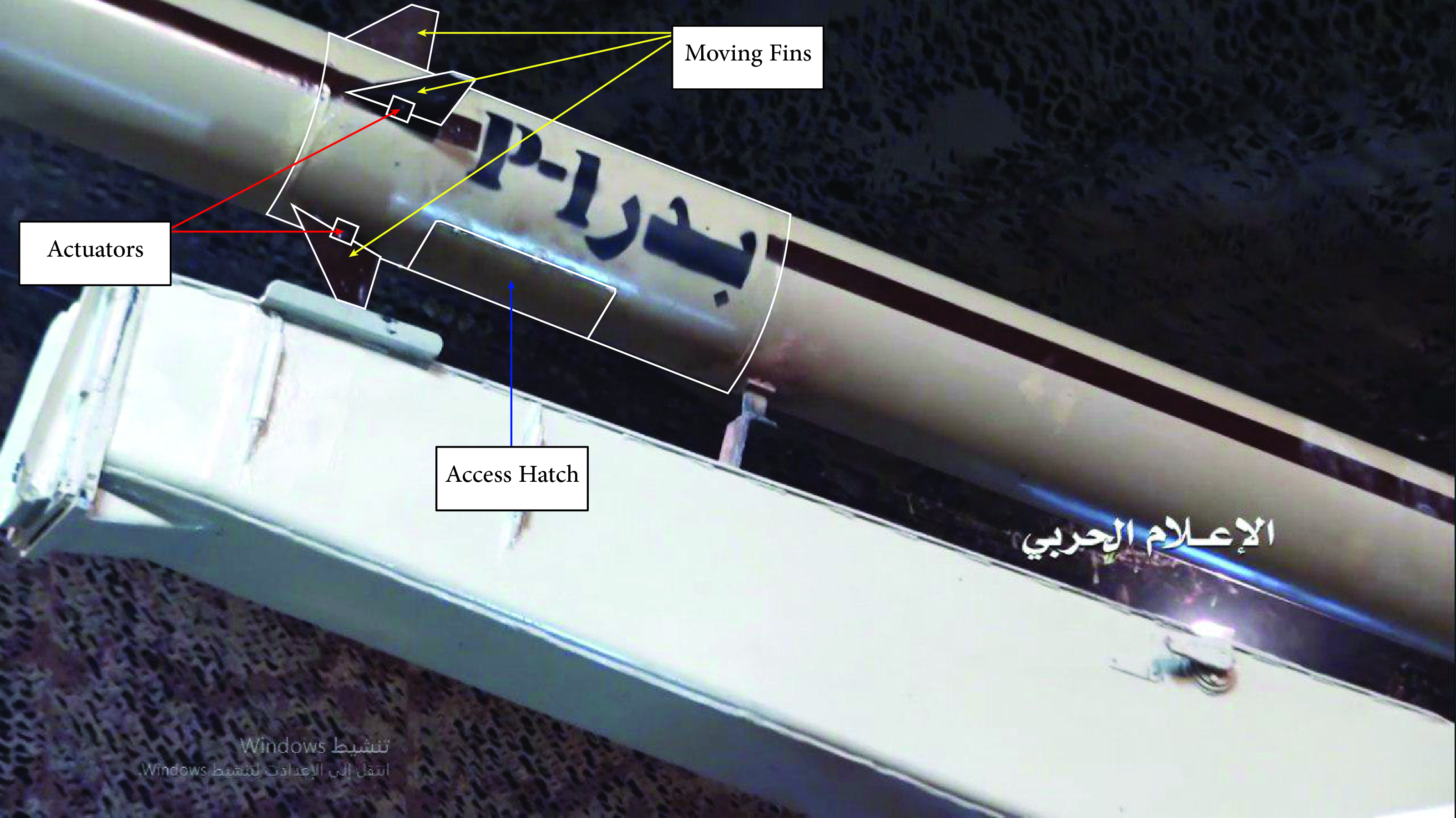 Detailed Look At New Guided Artillery Rocket Revealed By Houthis (Video, Photos)