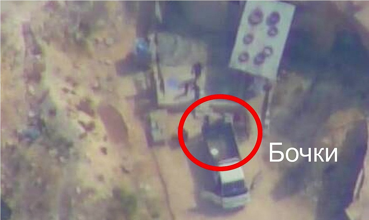 Russian Reconciliation Center: ISIS Cells Steal Chlorine Gas Cylinders From HTS (Video)