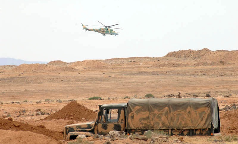 Syrian Army Launches New Attack Against ISIS Cells In Al-Safa