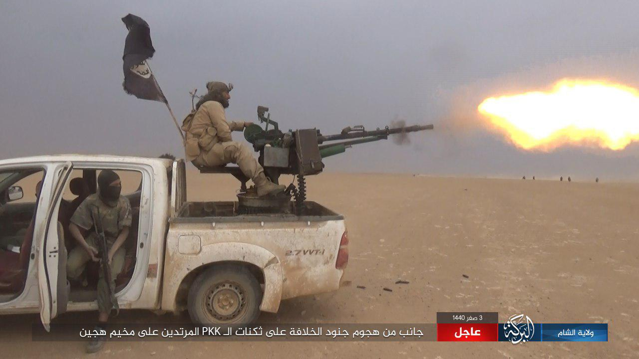 ISIS Kills And Captures Scores Of SDF Fighters During Large