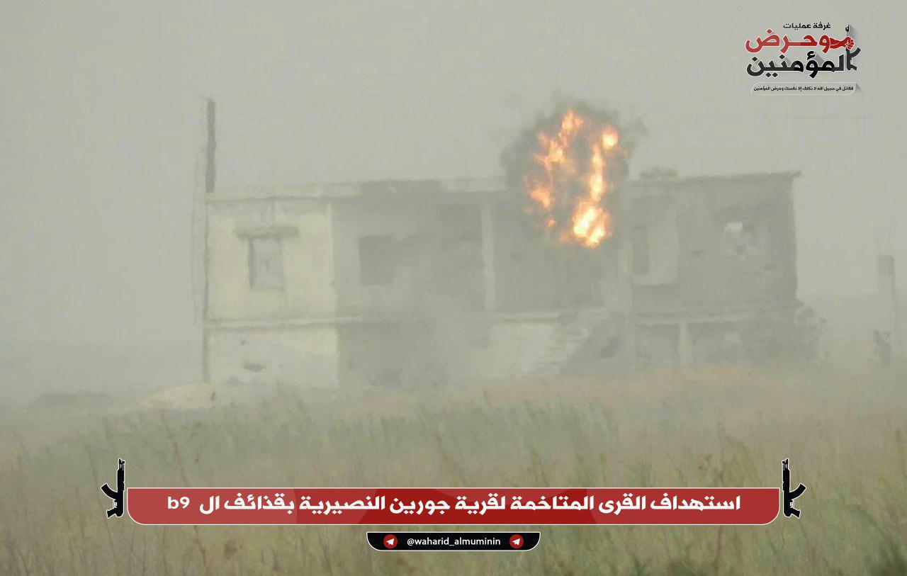 Militants Attack Key Syrian Army Base In Northwestern Hama (Photos)